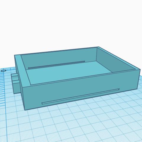 2.png Télécharger fichier STL gratuit Tiroir à disquette 3 1/2 • Plan pour imprimante 3D, jolucomo