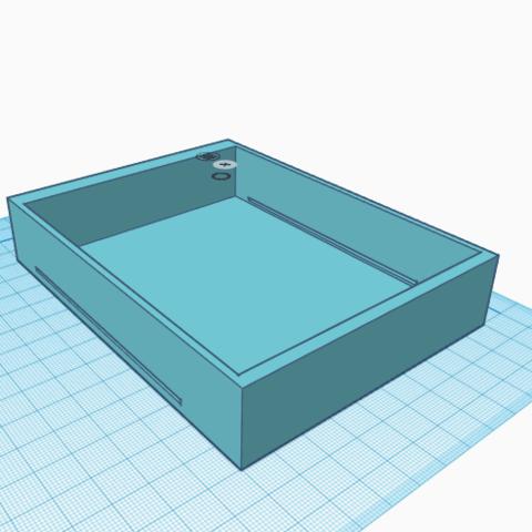 3.png Télécharger fichier STL gratuit Tiroir à disquette 3 1/2 • Plan pour imprimante 3D, jolucomo