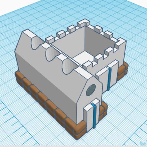 7.png Download free STL file House Lapicero • 3D printable model, jolucomo