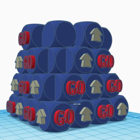 9.png Télécharger fichier STL gratuit Pot de fleurs - Crayon GO ! • Objet pour imprimante 3D, jolucomo