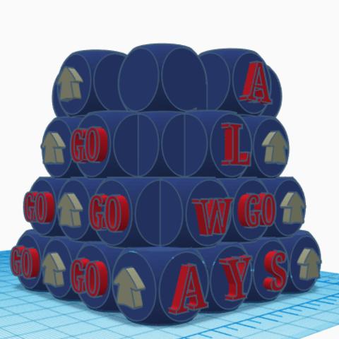 11.png Télécharger fichier STL gratuit Pot de fleurs - Crayon GO ! • Objet pour imprimante 3D, jolucomo