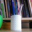 Télécharger plan imprimante 3D gatuit Pot tricoté, Morcelkin