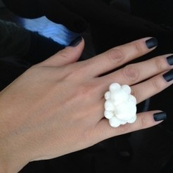 Free 3D printer designs Cloud Ring, Morcelkin
