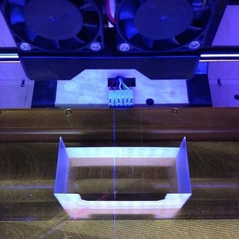 photo5_display_large.jpg Download free STL file Dual Extruder Fan Shroud • 3D printable model, Morcelkin