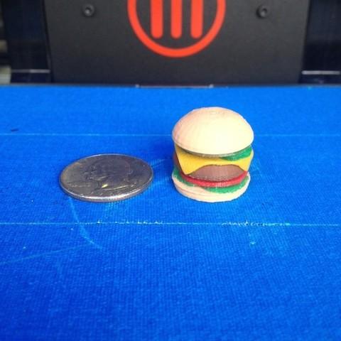 Download free 3D printer files Cheeseburger, Morcelkin