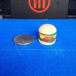 photo_3_display_large.jpg Télécharger fichier STL gratuit Cheeseburger au fromage • Plan à imprimer en 3D, Morcelkin