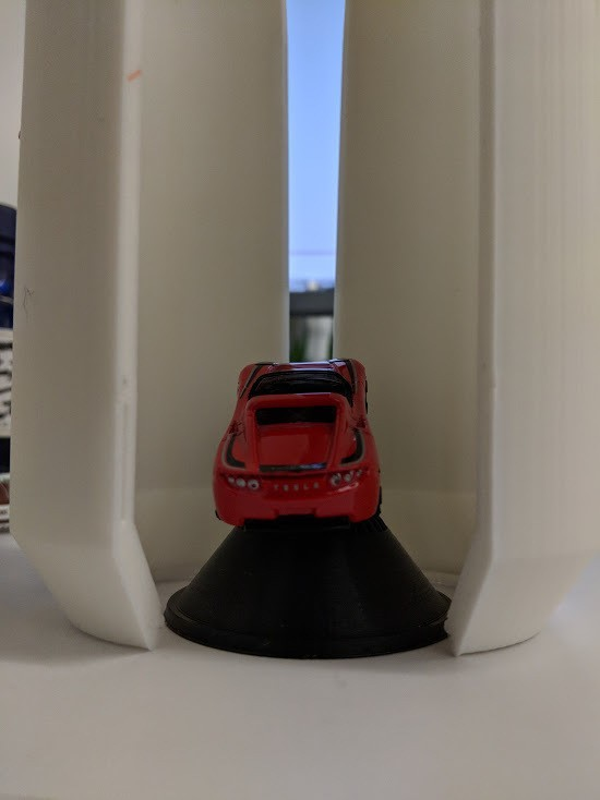 9d8012c2f561295847689c12419f4a8c_display_large.jpg Download free STL file Matchbox Roadster Falcon Heavy Fairings • Design to 3D print, Morcelkin