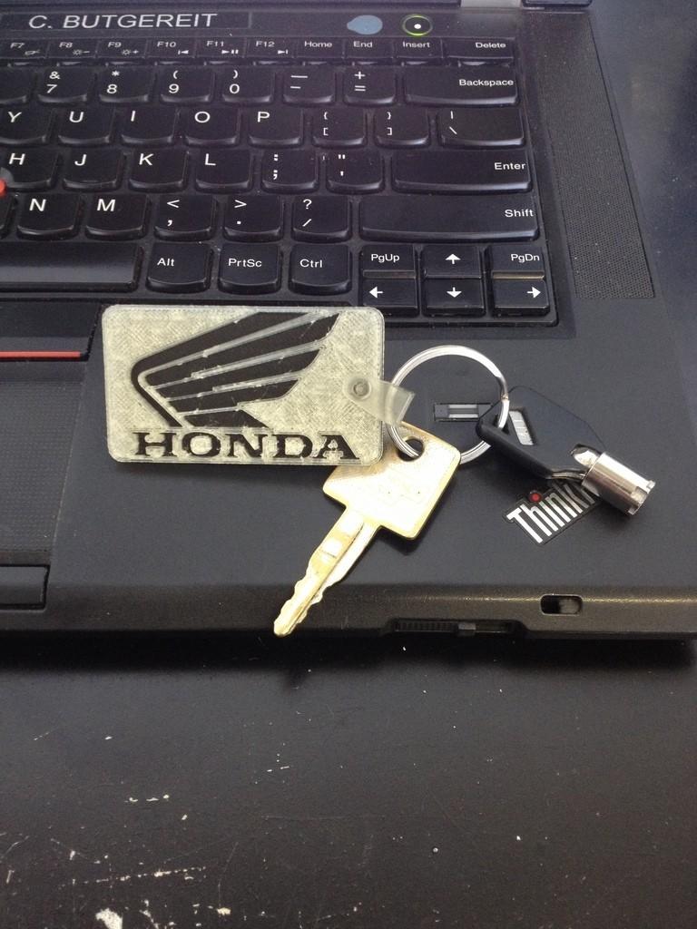 photo_display_large.jpg Télécharger fichier STL gratuit Porte-clés Honda • Objet à imprimer en 3D, Morcelkin