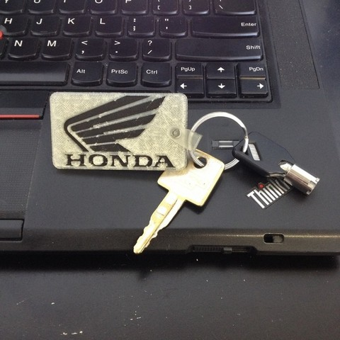 Download free 3D printer files Honda Keychain, Morcelkin