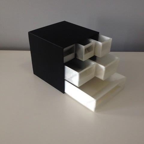 Télécharger fichier STL gratuit Cubes de rangement • Objet pour impression 3D, Morcelkin