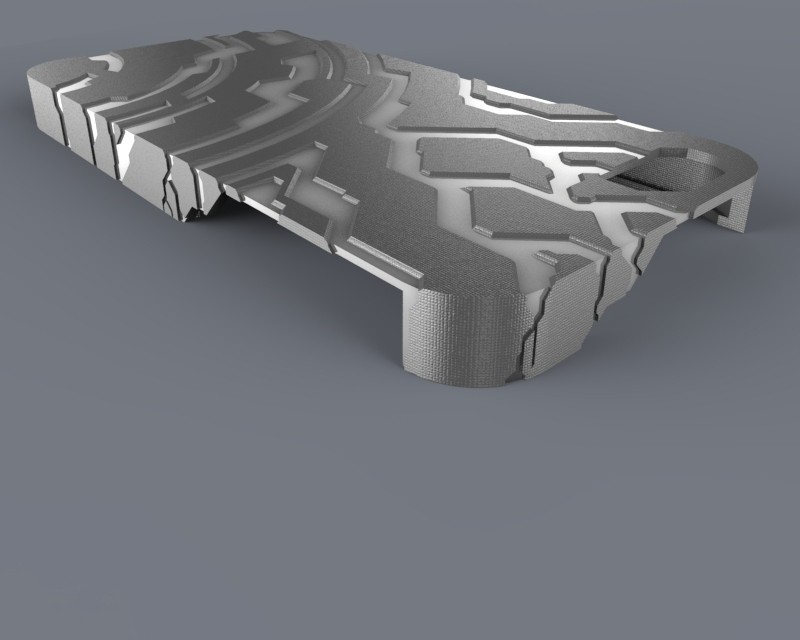 untitled.59_display_large.jpg Download free STL file Halo themed Iphone 5 Case • 3D printer template, aevafortinhi