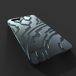 untitled.15_display_large.jpg Download free STL file Iphone 6 Case (Halo Themed) • 3D printer model, aevafortinhi