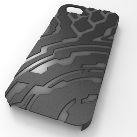 untitled.56_display_large.jpg Download free STL file Halo themed Iphone 5 Case • 3D printer template, aevafortinhi
