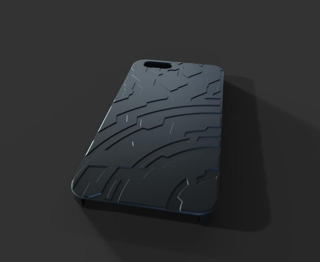 untitled.11_display_large.jpg Télécharger fichier STL gratuit Étui pour Iphone 6 (Thème Halo) • Plan à imprimer en 3D, aevafortinhi