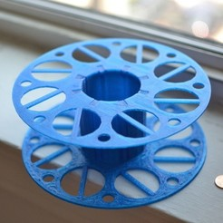 DSC_0606_display_large.jpg Download free STL file Filament Spool • 3D printable template, aevafortinhi