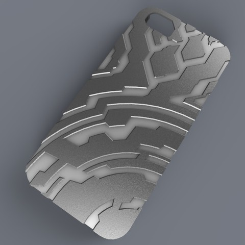 Download free 3D model Iphone 5 Case (Halo Themed), aevafortinhi