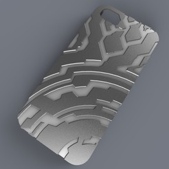 untitled.58_display_large.jpg Download free STL file Iphone 5 Case (Halo Themed) • 3D print model, aevafortinhi