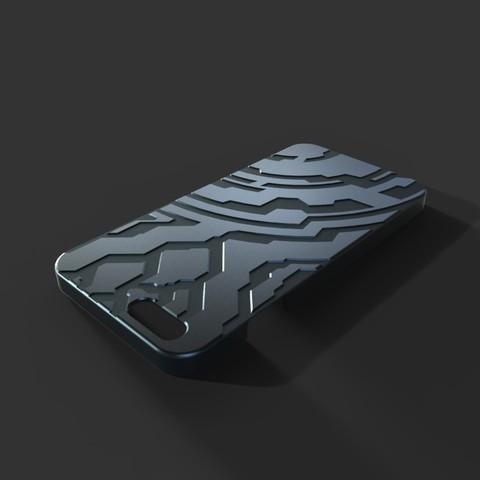 untitled.17_display_large.jpg Télécharger fichier STL gratuit Étui pour Iphone 6 (Thème Halo) • Plan à imprimer en 3D, aevafortinhi