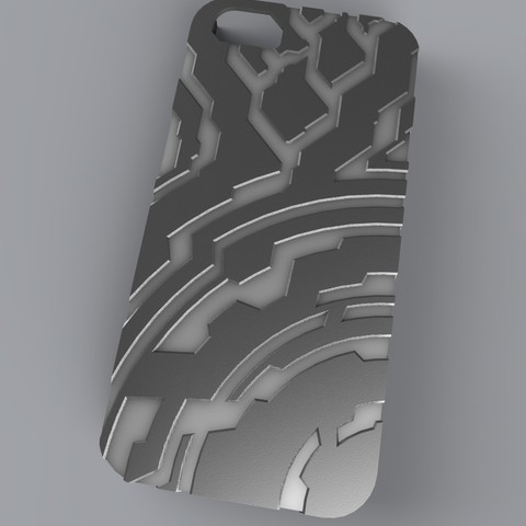 untitled.61_display_large.jpg Download free STL file Halo themed Iphone 5 Case • 3D printer template, aevafortinhi