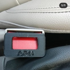 20200409_141822.jpg Download STL file anti-alarm buckle seat belt • 3D printer object, agimp
