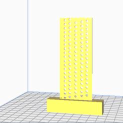 escu.png Download STL file square for parallel lines • Model to 3D print, agimp