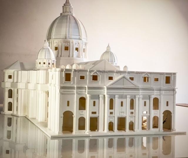 7852CBBF-739D-4B4F-AAD5-7183E202C7F0 (1).JPG Télécharger fichier STL gratuit La basilique San Pietro • Modèle pour imprimante 3D, Starseed_mod