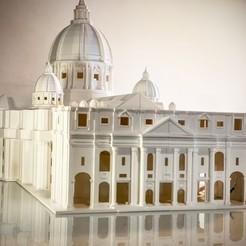 7852CBBF-739D-4B4F-AAD5-7183E202C7F0 (1).JPG Download free STL file San Pietro Basilica • 3D printable template, Starseed_mod