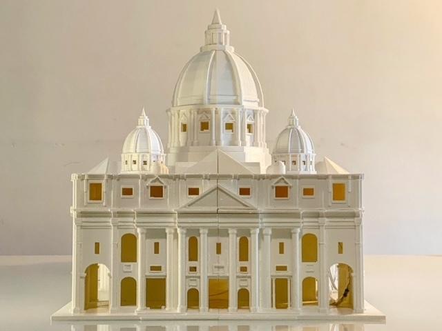 0146C155-B684-4F80-91F5-A86918FA89F4 (1).JPG Télécharger fichier STL gratuit La basilique San Pietro • Modèle pour imprimante 3D, Starseed_mod
