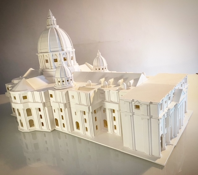 B61C8C72-94BC-4DFF-9519-A7BE97B487F8 (1).JPG Télécharger fichier STL gratuit La basilique San Pietro • Modèle pour imprimante 3D, Starseed_mod