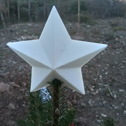 Download free 3D model Star Christmas tree, alejandroid