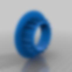 hueco_grande.stl Download free STL file Improved desktop cable grommets • 3D printing object, giuseppedibari