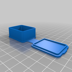 Download free STL file cajita pequeña con tapa • 3D printer template, giuseppedibari