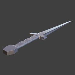 Descargar diseños 3D gratis cuchillo, axf
