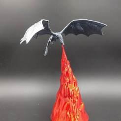 3D printer models Dragon GoT Lamp, George_Tom