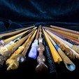 Télécharger objet 3D Collection de baguettes Harry Potter, Vitorie