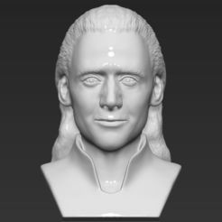 Download 3D printing files Loki bust 3D printing ready stl obj, PrintedReality