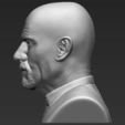 STL files Walter White Breaking Bad bust ready for full color 3D printing, PrintedReality