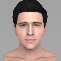 untitled.346.jpg Télécharger fichier STL Un beau buste d'homme brun pour une impression 3D en couleur TYPE 3 • Modèle pour impression 3D, PrintedReality