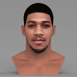 untitled.1452.jpg Download STL file Anthony Joshua bust ready for full color 3D printing • Design to 3D print, PrintedReality
