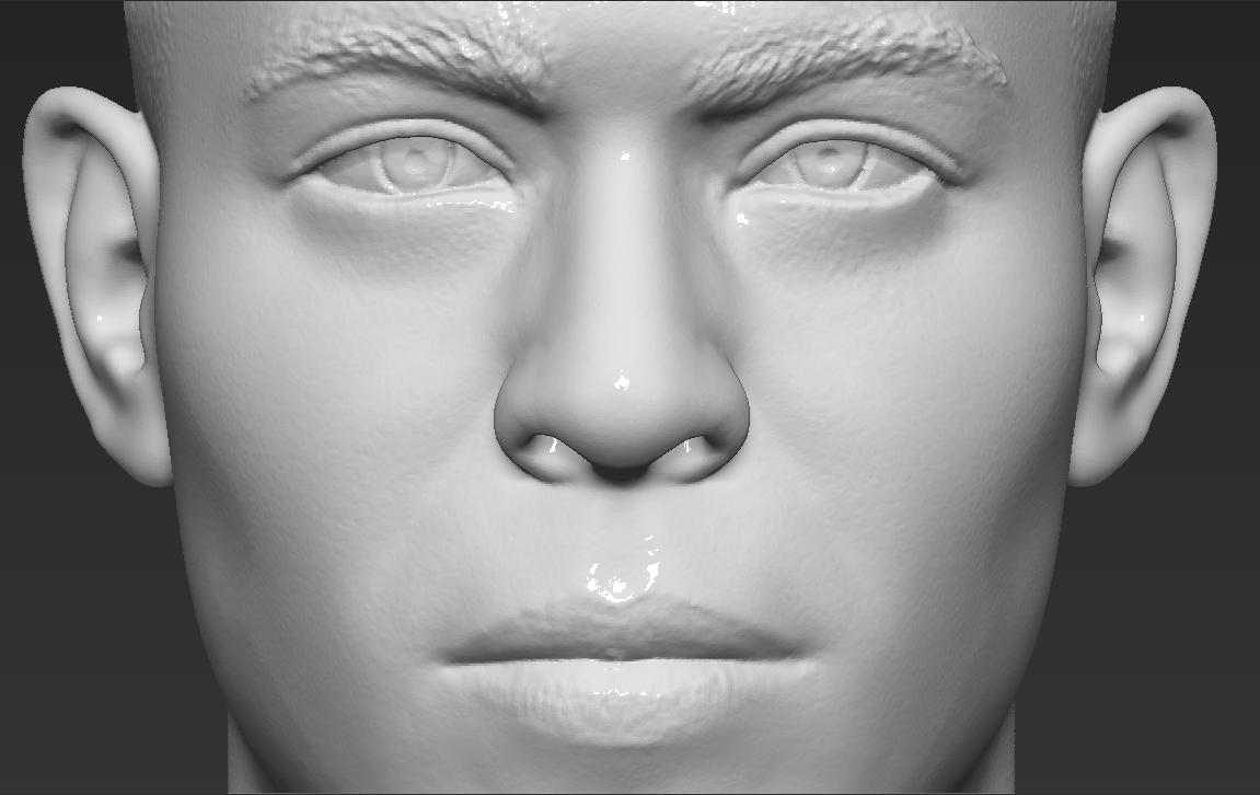 15.jpg Download STL file Ronaldo Nazario Brazil bust 3D printing ready stl obj formats • Template to 3D print, PrintedReality