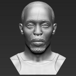 1.jpg Télécharger fichier STL Omar Little, de The Wire, a fait un buste en 3D prêt à imprimer des formats stl obj • Objet pour impression 3D, PrintedReality