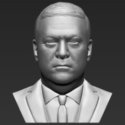 1.jpg Download STL file Mike Pompeo bust 3D printing ready stl obj formats • 3D printer model, PrintedReality