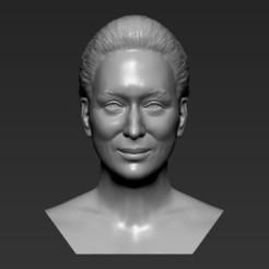 1.jpg Download STL file Meryl Streep bust 3D printing ready stl obj formats • 3D print object, PrintedReality