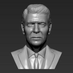1.jpg Download STL file Ronald Reagan bust 3D printing ready stl obj formats • 3D print design, PrintedReality