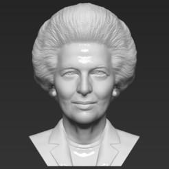 1.jpg Download STL file Margaret Thatcher bust 3D printing ready stl obj formats • 3D print design, PrintedReality