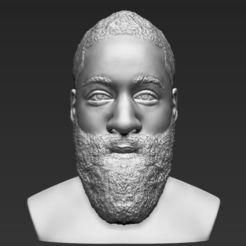 james-harden-bust-ready-for-full-color-3d-printing-3d-model-obj-mtl-fbx-stl-wrl-wrz (19).jpg Download STL file James Harden bust 3D printing ready stl obj • 3D printer model, PrintedReality