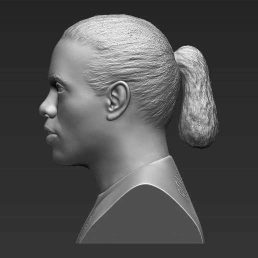 4.jpg Download STL file Ronaldinho bust ready for full color 3D printing • 3D print model, PrintedReality