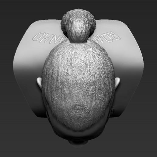 15.jpg Download STL file Ronaldinho bust ready for full color 3D printing • 3D print model, PrintedReality
