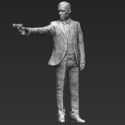 Impresiones 3D Al Pacino Michael Corleone Padrino 3D listo para imprimir stl obj, PrintedReality