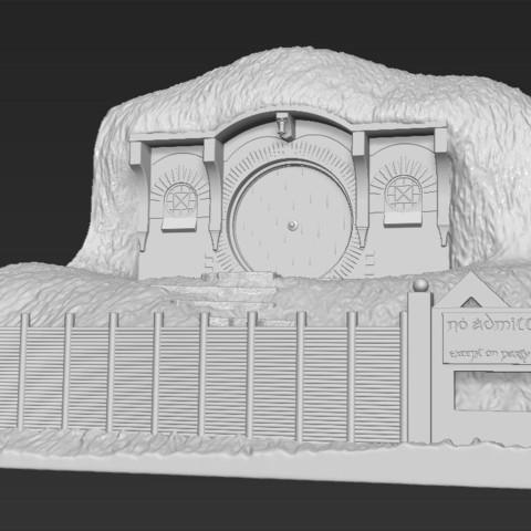 Télécharger objet 3D Sac End Shire Le Seigneur des Anneaux Impression 3D stl obj prêt à l'emploi, PrintedReality